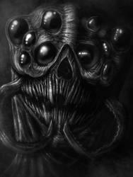 Skryme, The Flesh Weaver  by Abizmerald999