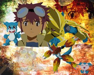 Davis Daisuke Background by CraftKiwi