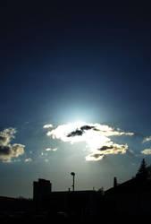 Blue sky by esselt