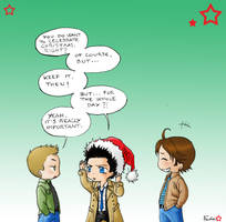 Merry Christmas X3 by Nimloth87