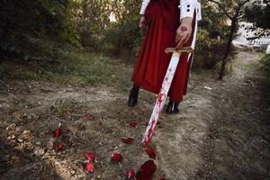 HSA_MEIKO_bloody sword by hybridre