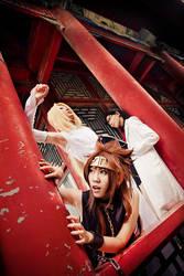 Saiyuki Gaiden_curiosity by hybridre