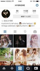 My Instagram by hybridre