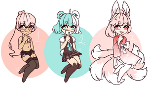 .:Pastel Batch 1:. OTA/AUCTION CLOSED by Caiote