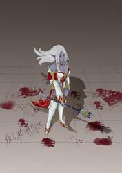Killing Natives: Dark Elf by Steel-Butterfly