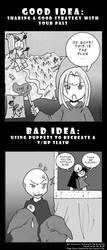 Good Idea vs Bad Idea 10 by Steel-Butterfly