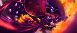 One Piece 895 - Luffy vs Katakuri by Eyaririri