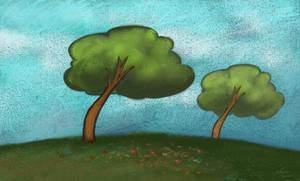 Animation background test by KatLouhio