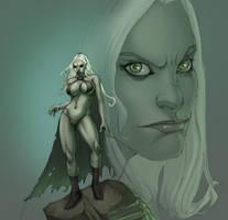 Goblin Queen Green by Selkirk by KatLouhio
