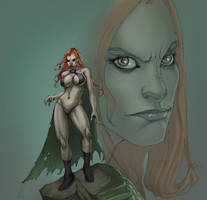 Goblin Queen Red by Selkirk by KatLouhio