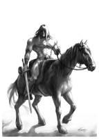 Conan sketch by KatLouhio