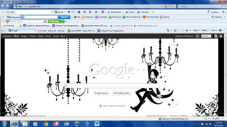 My Google Background by unicorn6110