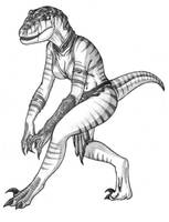 Anthrosaurs - F Velociraptor 2 by Predaguy
