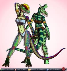 Belly Dancer Duo! by Predaguy