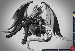 Ayako the Dragoness by Predaguy