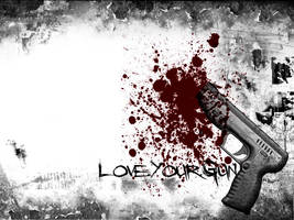 LovexYourxGun by xxxToxicSunshine