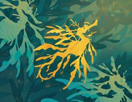 Card Design: Sea Dragon by CitrusFoam