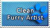 Clean Furry Artist Stamp by DaiKunz