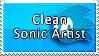 Clean Sonic Artist by DaiKunz