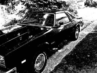 '76 cutlass supreme by Mikefuk