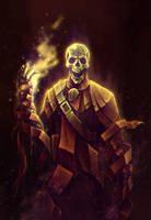 Skeleton lord by SolFar