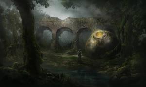 alien capsule by SolFar