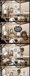 Stuffing Versus Potatoes by VanHeist