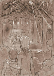 The Forest of Wolves by K-naille