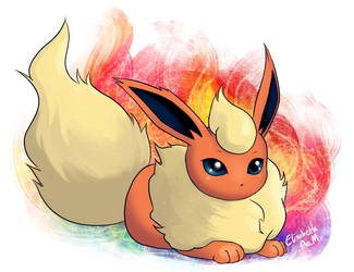 Flareon by Emeraldus