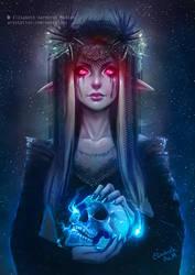 Skull Elf by Emeraldus