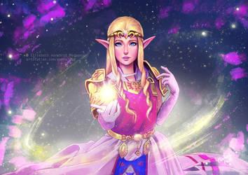 Zelda - Ocarina of Time by Emeraldus