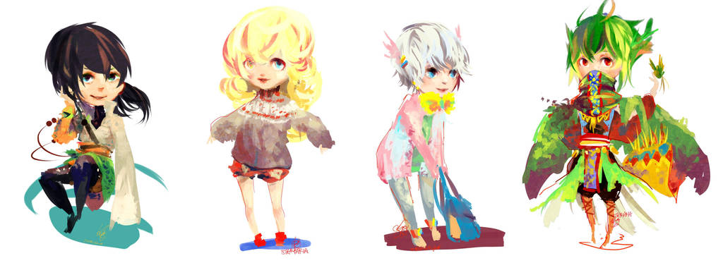 commss:: CHEEB BATCH 01 by Stariaria