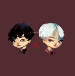 beautiful liar : cheeb commiss samples by Stariaria