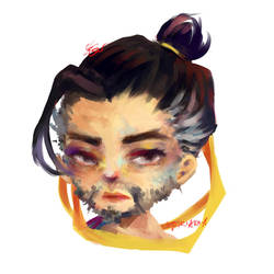 hanzo by Stariaria