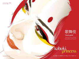 Kabuki Princess by TraceLandVectorie03