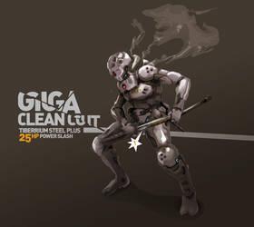 Giga Clean Cut by TraceLandVectorie03