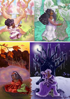 Four Seasons of Mistress by Laylabelle97