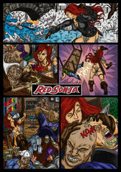 Red Sonja collab by conradknightsocks