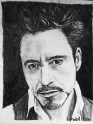 Robert Downey Jr by LyndellLee