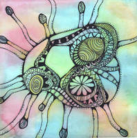 Tentacled Amoeba by LaurenHasCombusted