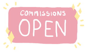 Commissions open stamp thingy by almaarts