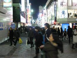 Yokohama night life by raccoon-eyes