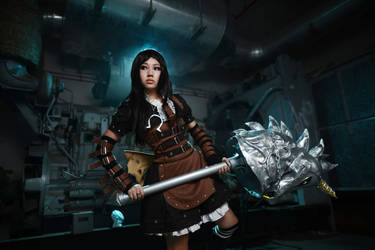 Alice Madness Returns: Steam Dress 3 by rurik0