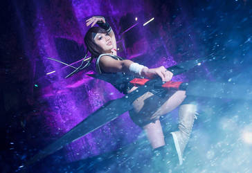 Yuffie - Final Fantasy Advent Childen by rurik0