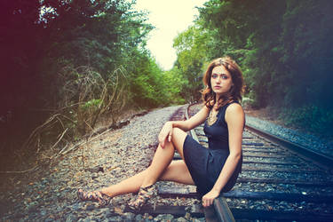 Lonely Girl by VLCPhoto