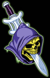 Skeletor Swordhead by JonBolerjack