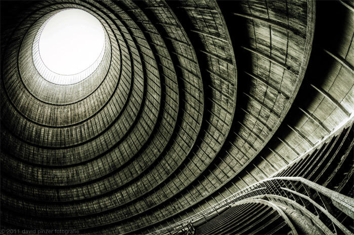 The eye of the cooling tower by Dapicture