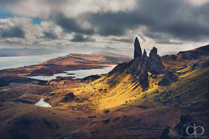 Peaks in the Skye by Dapicture