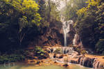 Kuang Si Waterfalls by Dapicture