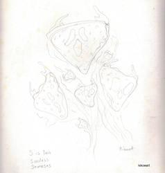 Sketch for Soulless Samosas by kikoeart